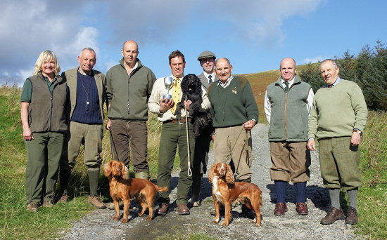 Group Photo Bowhill Open Stake Oct 2011